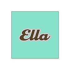 Ella Aqua Sticker