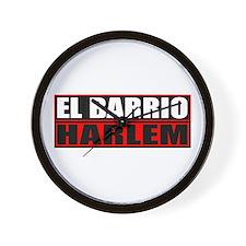 Spanish Harlem Wall Clock