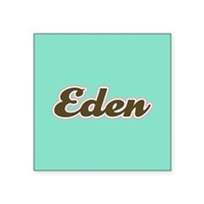 Eden Aqua Sticker