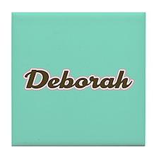 Deborah Aqua Tile Coaster