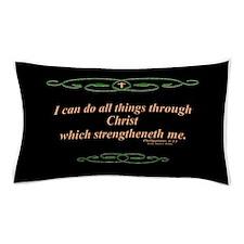 Philippians 4 13 Cross Pillow Case