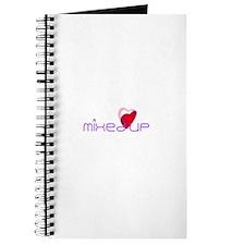 'Mixed Up' Heart Journal / Notebook