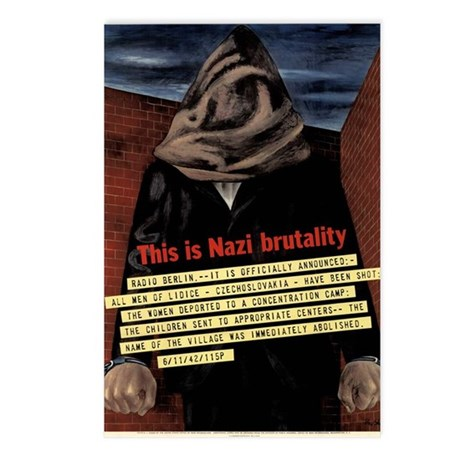 Brutality Postcards (Package of 8)