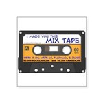 WRFR's I Made You This Mix Tape Sticker