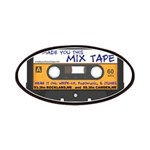 WRFR's I Made You This Mix Tape Patches