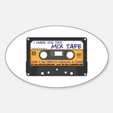 WRFR's I Made You This Mix Tape Decal
