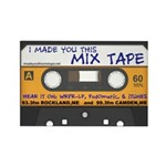 WRFR's I Made You This Mix Tape Rectangle Magnet (