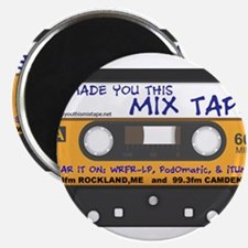 """WRFR's I Made You This Mix Tape 2.25"""" Magnet (10 p"""