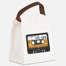 WRFR's I Made You This Mix Tape Canvas Lunch Bag