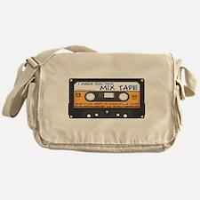 WRFR's I Made You This Mix Tape Messenger Bag