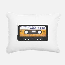WRFR's I Made You This Mix Tape Rectangular Canvas