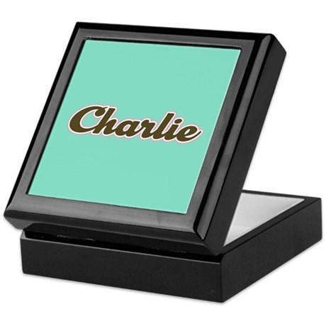 Charlie Aqua Keepsake Box