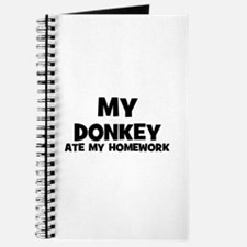 My Donkey Ate My Homework Journal