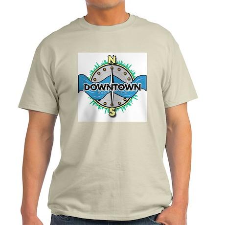 Kansas City Downtown Ash Grey T-Shirt