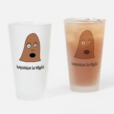 Sasquatches Trippin Drinking Glass