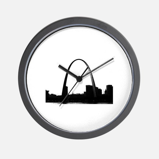 Gateway Arch - Eero Saarinen Wall Clock