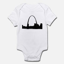 Gateway Arch - Eero Saarinen Infant Bodysuit