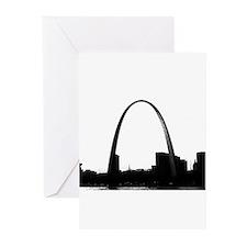 Gateway Arch - Eero Saarinen Greeting Cards 10 Pk