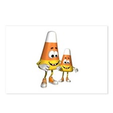 Cute Silly Candy Corn Postcards (Package of 8)