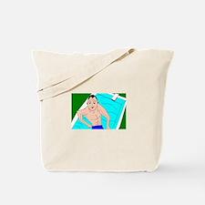 i swim Tote Bag