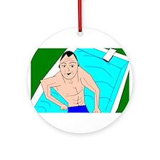 i swim Ornament (Round)