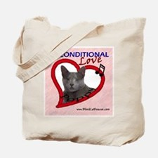 Poppy Unconditional Love in Pink Tote Bag