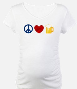 Peace Love Beer Shirt