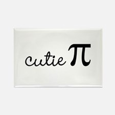 cutie Pi Rectangle Magnet