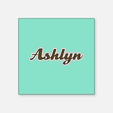 Ashlyn Aqua Sticker