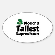 World's Tallest Leprechaun Decal