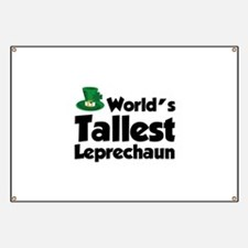 World's Tallest Leprechaun Banner