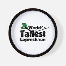 World's Tallest Leprechaun Wall Clock