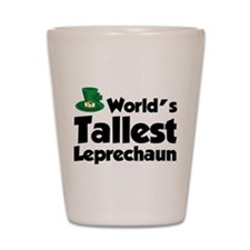 World's Tallest Leprechaun Shot Glass