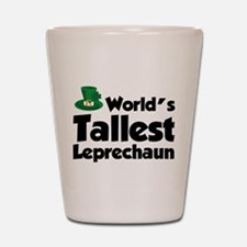 World's Tallest Leprechaun Shot Glass