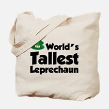 World's Tallest Leprechaun Tote Bag