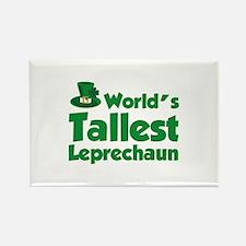 World's Tallest Leprechaun Rectangle Magnet