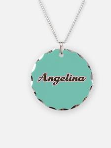Angelina Aqua Necklace