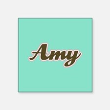 Amy Aqua Sticker