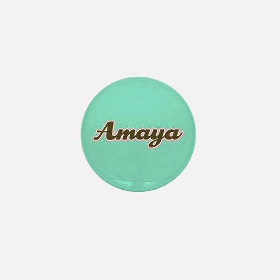 Amaya Aqua Mini Button