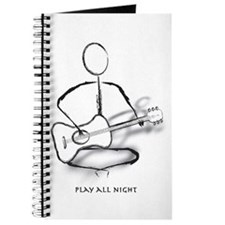 Guitar play all night Journal