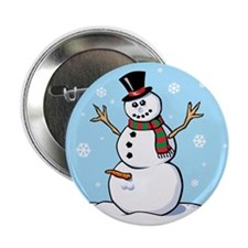 "Naughty Snowman 2.25"" Button (10 pack)"