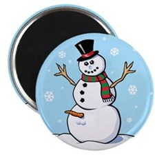 Naughty Snowman Magnet