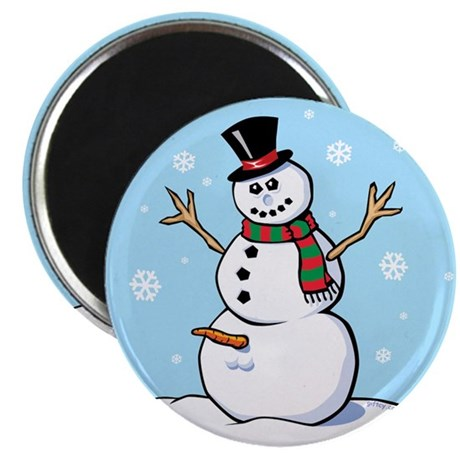"""Naughty Snowman 2.25"""" Magnet (100 pack)"""