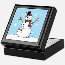 Naughty Snowman Keepsake Box