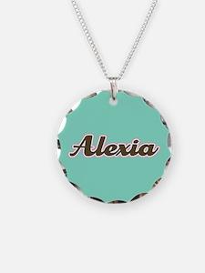 Alexia Aqua Necklace