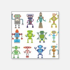 Robots by Phil Atherton Sticker