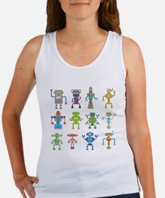 Robots by Phil Atherton Tank Top