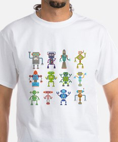 Robots by Phil Atherton T-Shirt