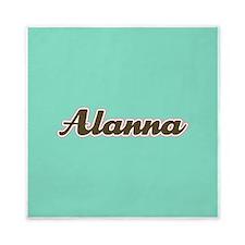 Alanna Aqua Queen Duvet
