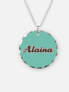 Alaina Aqua Necklace